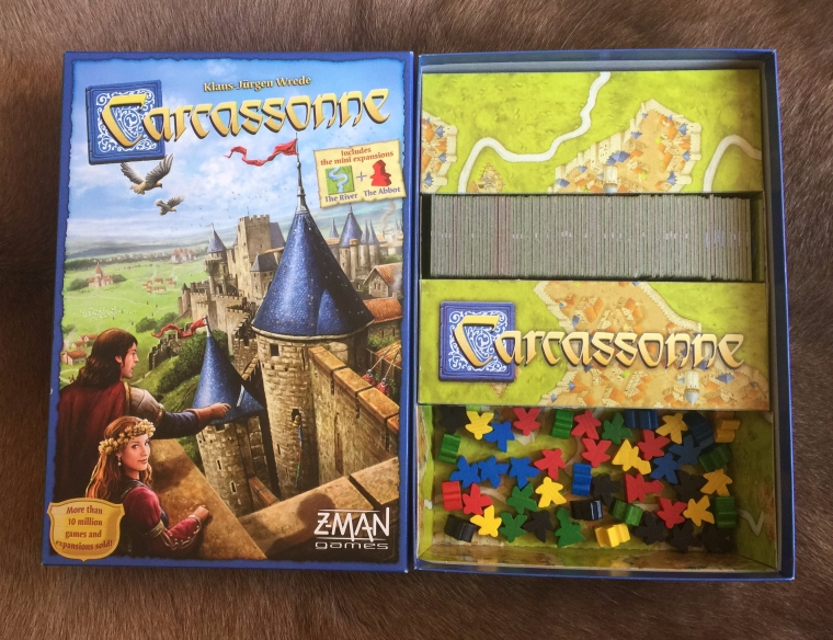 Carcassonne Box and Inlay