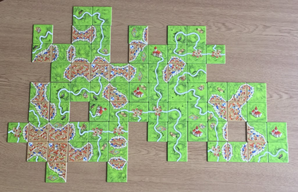 Carcassonne - Tiles without Meeples