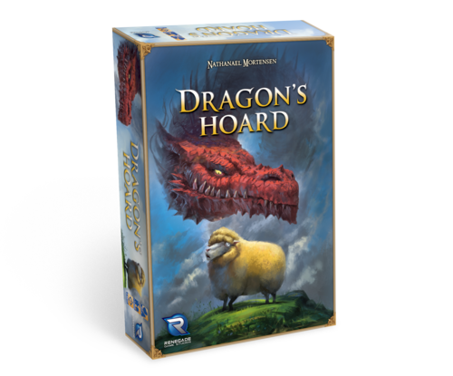 A picture of the game box of Dragon's Hoard by Renegade Games