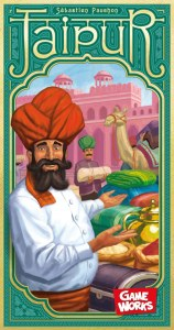An picture of the game box of Jaipur by Game Works