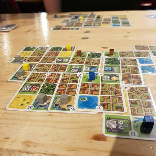 A photograph of Honshu taken mid gameplay.