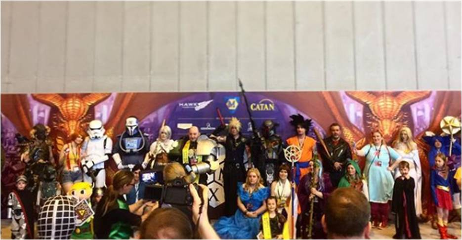 Photo of the UKGE 2017 Cosplay Parade