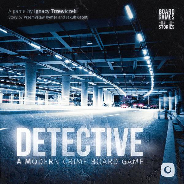Detective A Modern Board Game Box Art