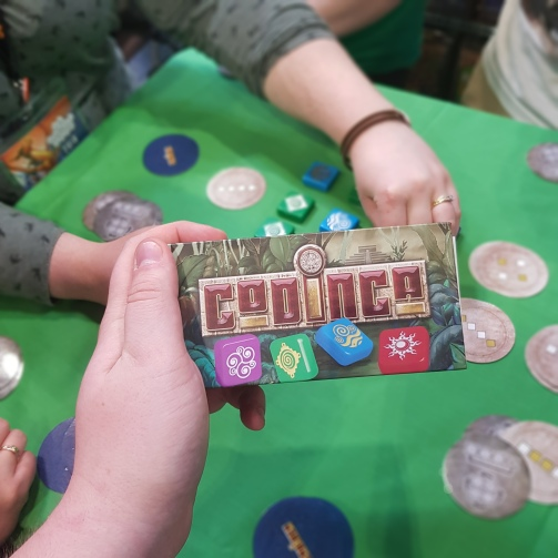 Codinca - A brilliant little small box game