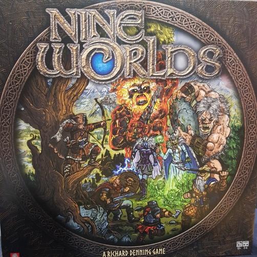 Nine Worlds - Amazing Box Art!