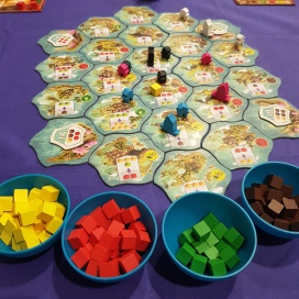 Century: Eastern Wonders set-up and ready to play