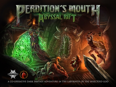 Perdition's Mouth Box Cover. An Example of Jamie's other work.