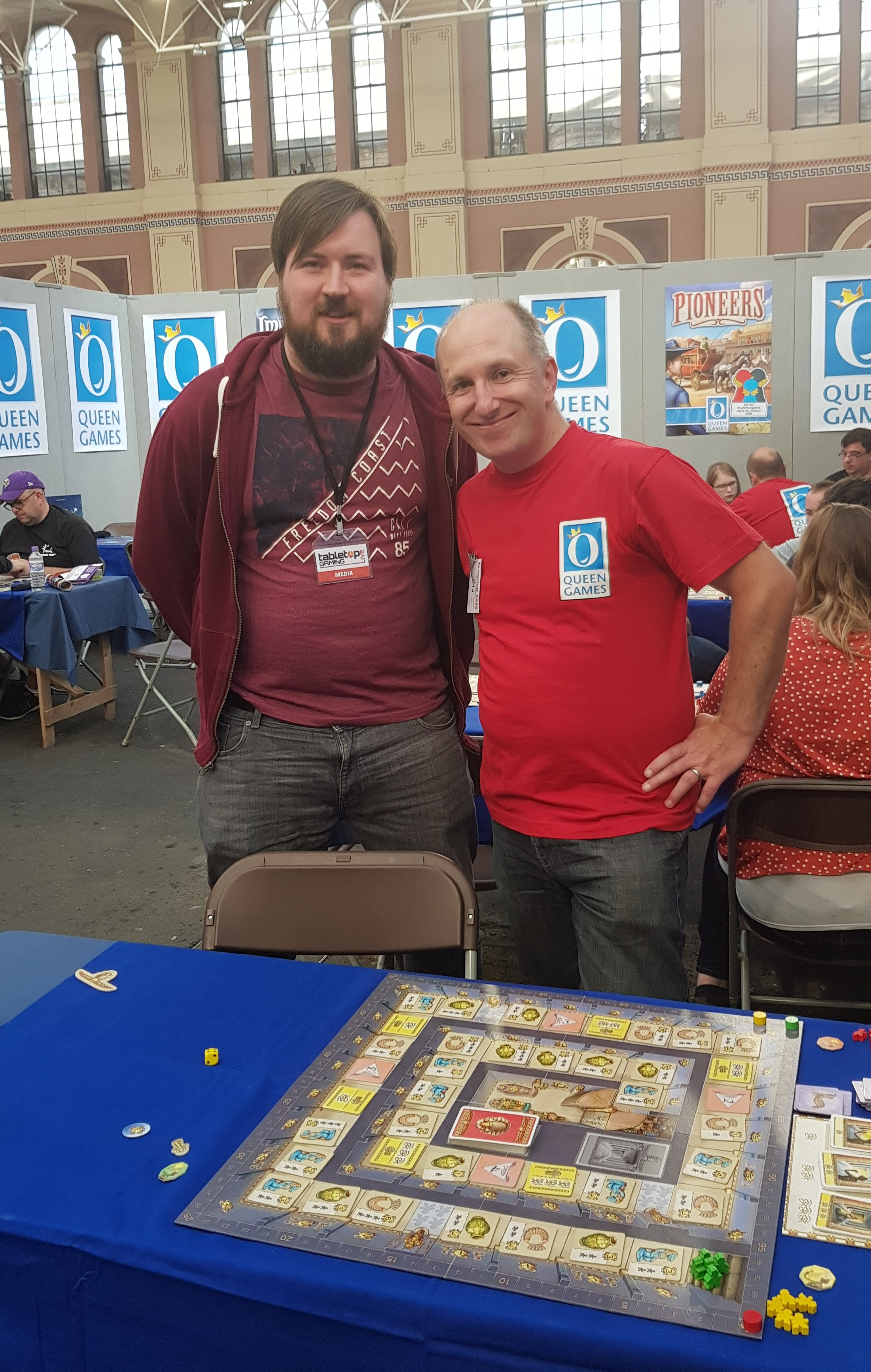 MP and Neil (Boardgame Academy)